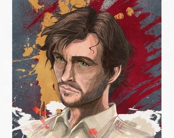 Will Graham from NBC's Hannibal Poster