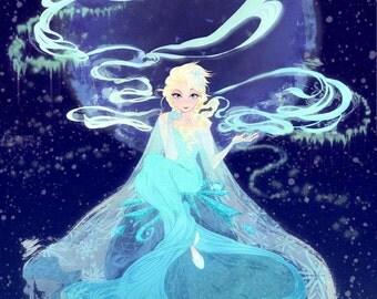 Elsa from Frozen Poster