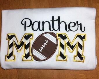 Personalized Football Mom Shirt