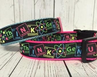 Geek Genius Science think smart dog collar