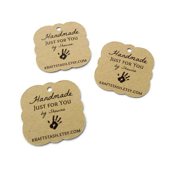 Handmade Tag Gift Tags Shop Tags Hang Tags Choose Your