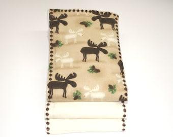 Burp Cloths | Moose Galore Burp Clothes |  Gerber Cloth Diaper Burp Cloths | 100 % Cotton Cloth Diaper Burp Cloths | FREE SHIPPING USA