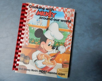 1986 Cooking with Mickey Around Our World