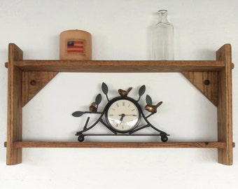 Rustic Pallet Wood Shelf