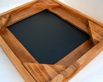 Rustic, All Wood Framed Chalk Board/ Black Board/ Bulletin Board/ Photo Prop/ Office