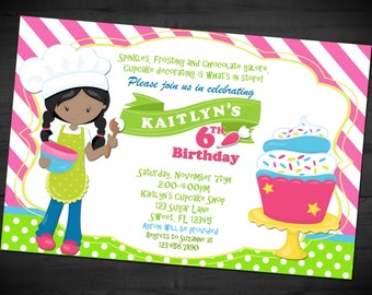 il_340x270.829339431_rjra apron cupcake decorating birthday party invitation printable,Cake Decorating Birthday Party Invitations