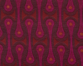 "Design 9297 by Josef Hoffmann -Magenta - Maharam - Same both sides - pillow 17"" x 17"" feather/down insert included"