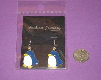 Penguin Charm Earrings