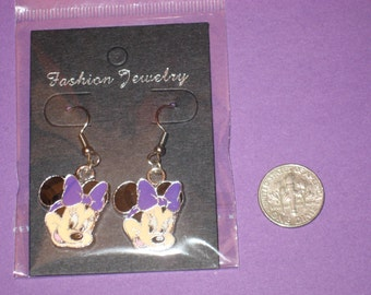 Minnie Charm Earrings - C