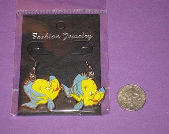 Flounder Charm Earrings *