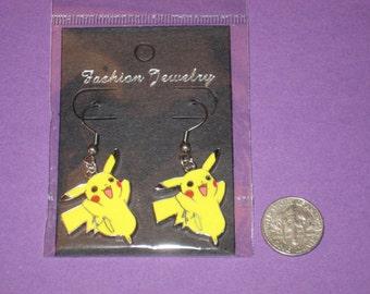 Pokemon Pickachu - Anime Charm Earrings - B