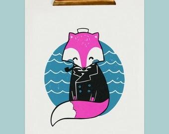 Sailor Fox 11x14