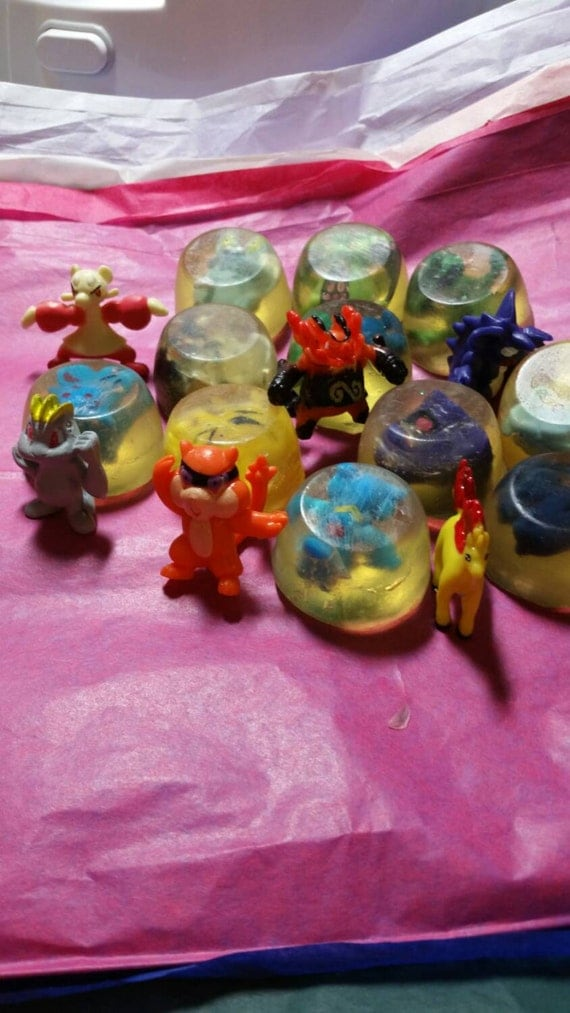 Tiny Pokémon Toy Soaps, Perfect for Gift Bags!