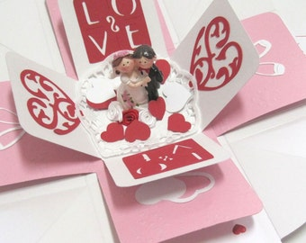 Money gift gift packaging box marriage wedding gift box