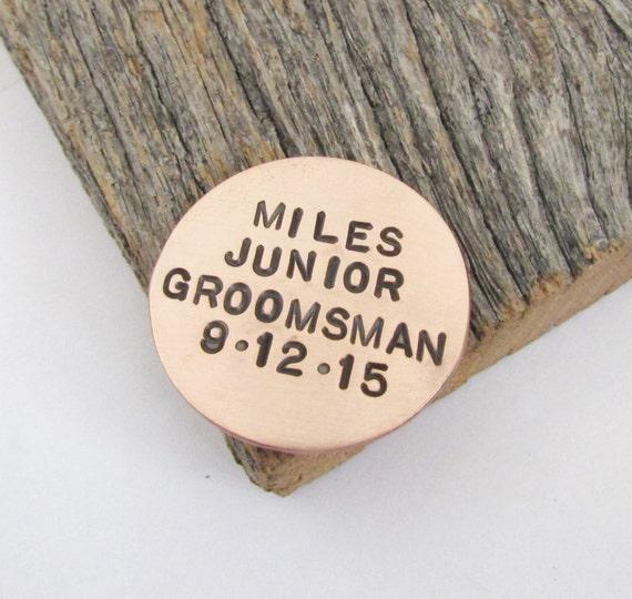 Junior Groomsman Gift Golf Gift for Men Jr Groomsman Ball Marker ...
