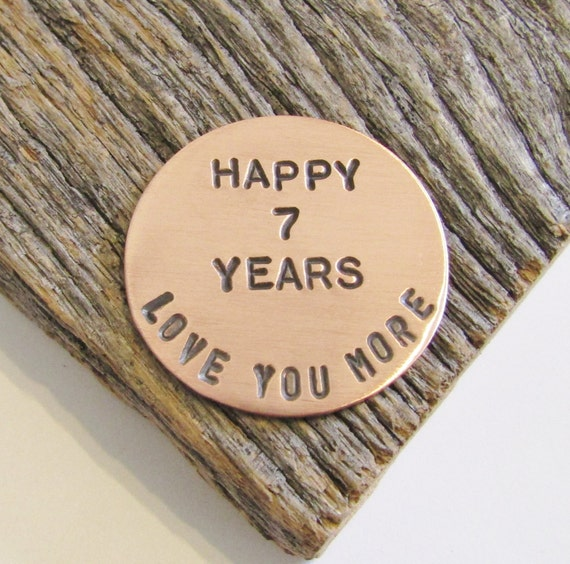 7th Wedding Anniversary Gift Ideas For Her: Gifts For Her 7th Anniversary Golf Ball Marker For Husband 7
