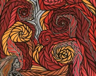 """5"""" x 7"""" uniquely-for-you 'Essence Portrait' by Megan Podwin"""