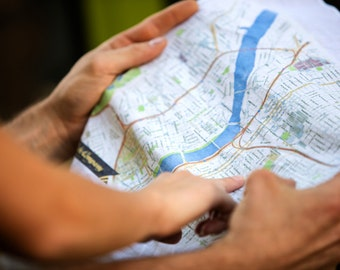 Handkerchief / Kerchief Maps