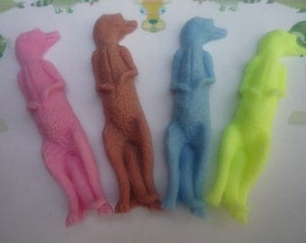 meerkat novelty soaps x 4
