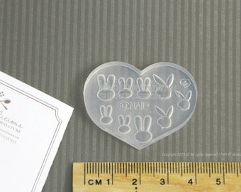 Miniature Rabbit Mold