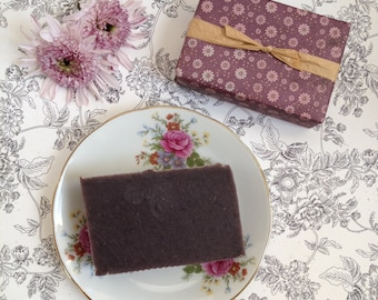 SALE All Natural Patchouli Cold Process Soap - Handmade Bar Soap Bath and Beauty Products