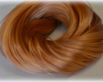 PREORDER L Hank Blonde Mink Nylon Doll Hair for OOAK Custom Monster High My Little Pony Blythe