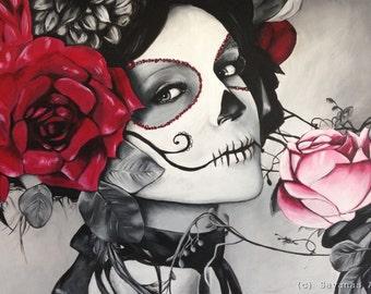 Santa Muerte - Signed Print