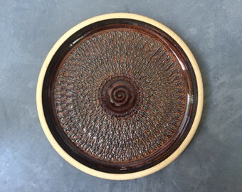 Modernist Studio Pottery Charger