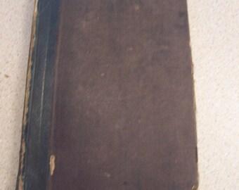 1849 RUDIMENTS of NATURAL PHILOSOPHY Olmstead Science, Optics, Acoustics, Magnetism, Mechanics, Electricity etc...