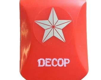 3.15''x2.3'' Big Japan Punch Star Decop