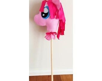 Handmade My Little Pony Inspired Hobby Horse