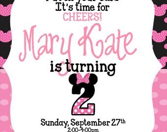 Minnie Mouse Inviation