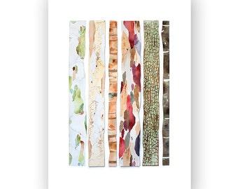 Tree Bark - archival art print