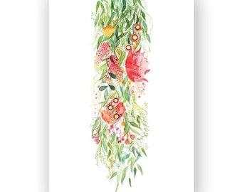 Native Flowers - archival art print