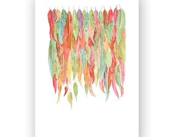 Leaves - archival art print