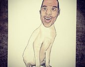 JAY Z cat watercolor painting