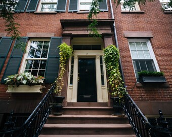 Apartment building in Greenwich Village, Manhattan, New York - Photography Fine Art Print or Wrapped Canvas