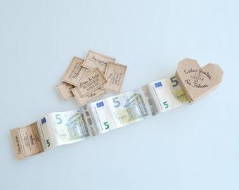 Heart Box Gift Money ES