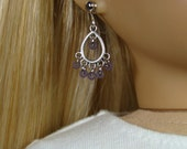 """Frosted Sugar Plum Dangle Earrings for 18"""" Play Dolls such as American Girl®"""