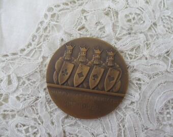 Vintage medal/plaque