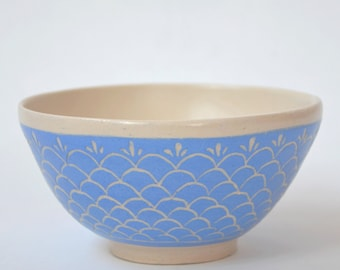 Bowl in sky blue