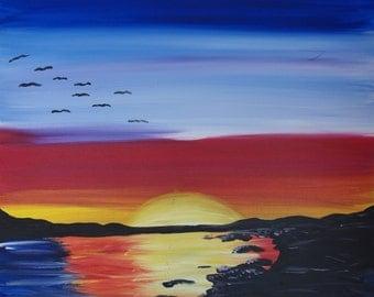 Sunset On The Bluff