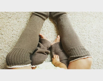 Mommy & Me Leg Warmers