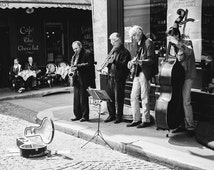 Rue Mouffetard Photograph, Paris Photography, Paris Black and White, Paris Street Photography, Paris Decor