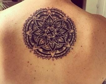 Intuitive Mandala Tattoo Design