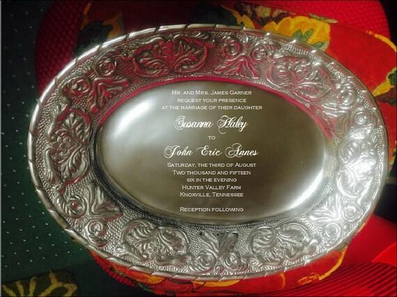 A Perfect Wedding Gift: Perfect Wedding Gift Wedding Tray Engraved Tray