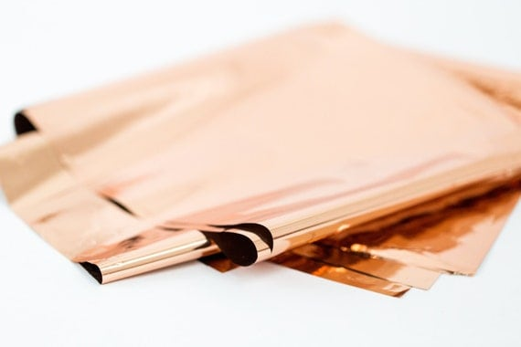 pink rose gold foil - photo #36