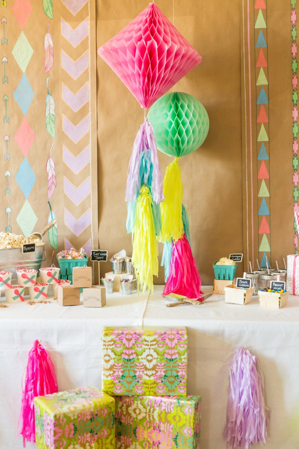 neon tissue paper For some diy decorating, make a tissue paper lantern, giant tissue paper flowers or try your hand at a tassel fringe garland finally, when you are left with a whole lot of tissue paper off-cuts, use a.