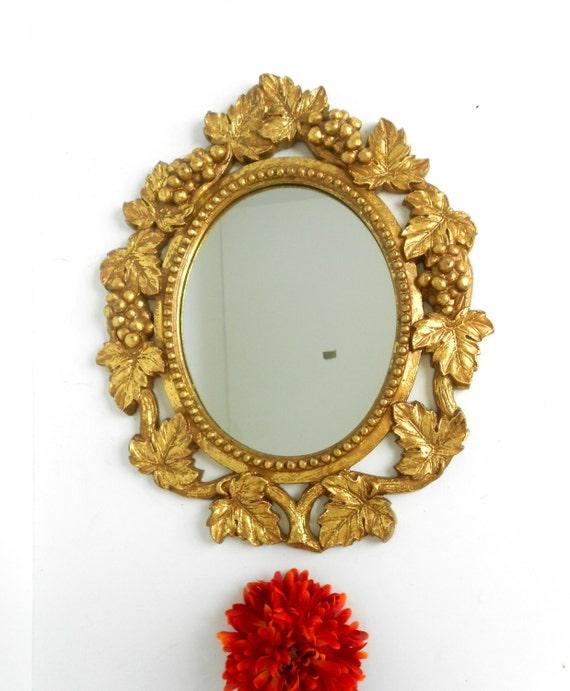 17 X 13 Miroir Cadre Ovale Miroir Mural Ovale Grand Grand