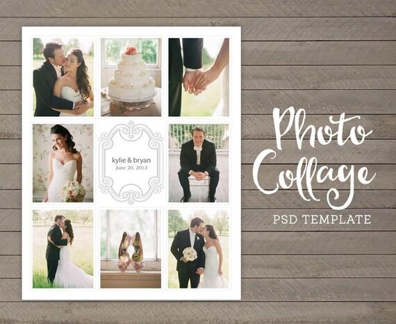 Wedding Photo Collage Wedding Picture Collage 16x20
